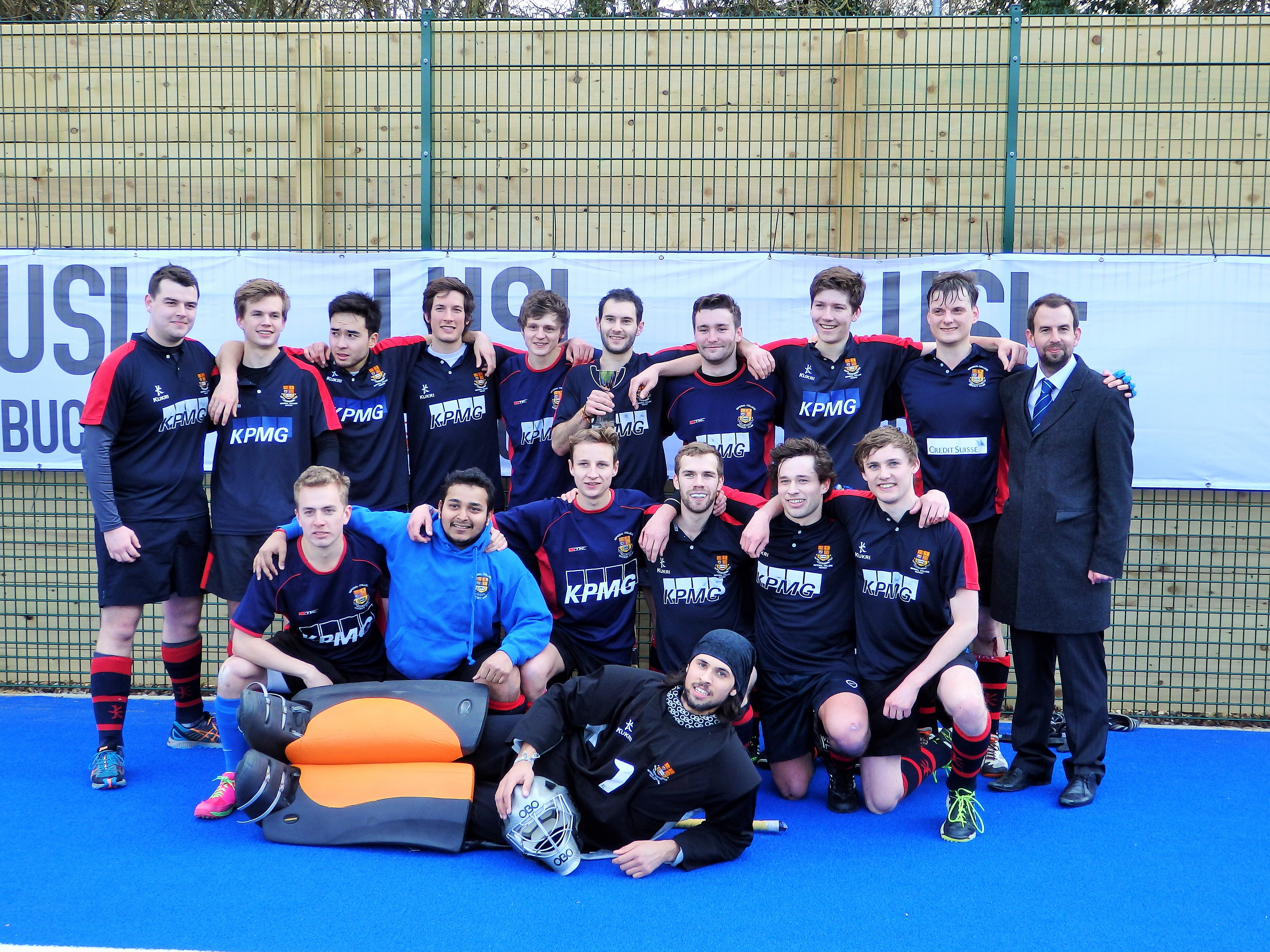 Mens 1s LUSL Cup Champions! | Imperial College Hockey Club