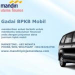 Group logo of Pinjaman Dana Jaminan BPKB Mobil