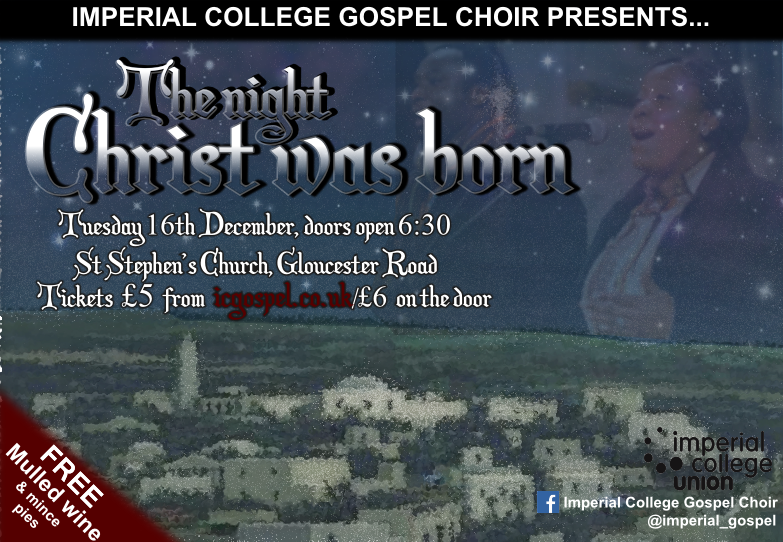 'The Night Christ Was Born' Christmas Concert 2014