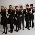 A fret of violinists