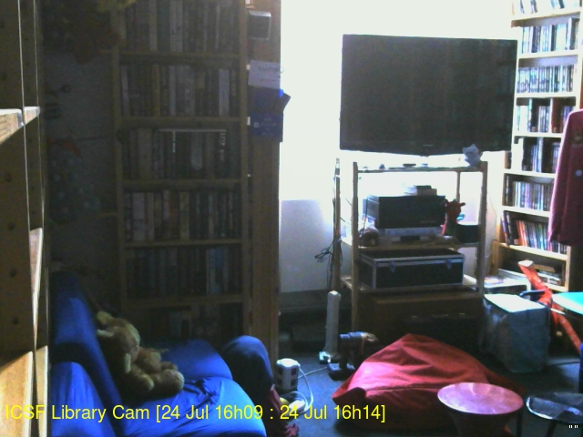 ICSF Library Webcam